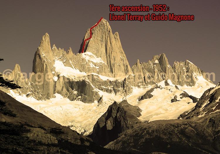 Ascension du Fitz Roy, l'exploit de Lionel Terray et Guido Magnone