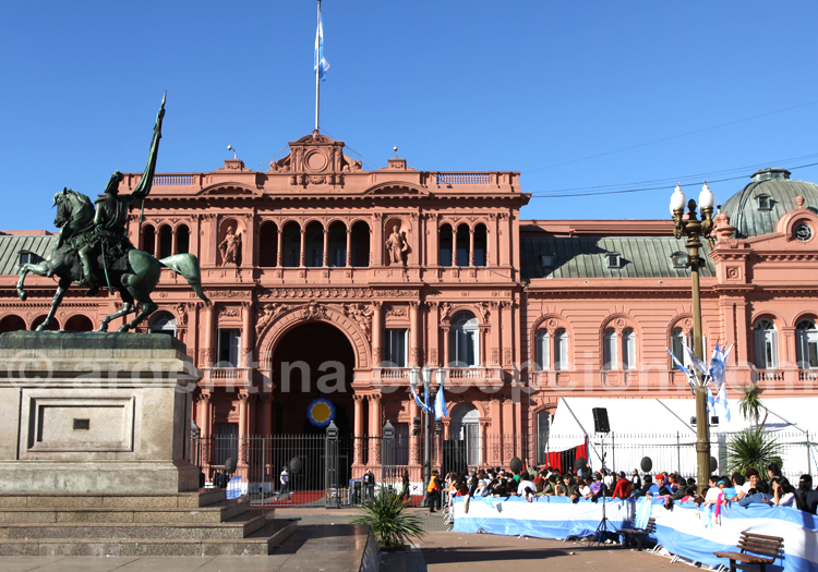 Fête du bicentenaire, Casa Rosada