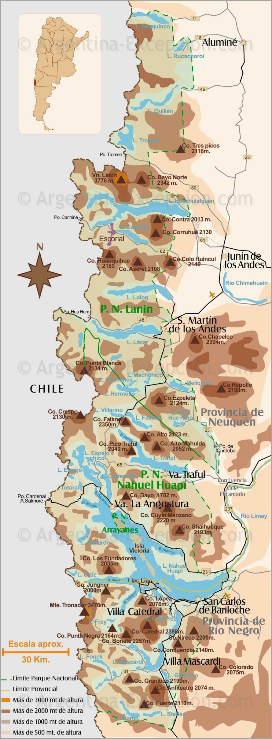 Circuito Grande Bariloche : Circuito grande gurutravel patagonia