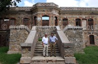 Jorge Fuchs et Alain d'Etigny, château San Carlos, Concordia