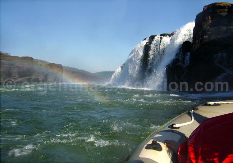 Visite des chutes de Mocona