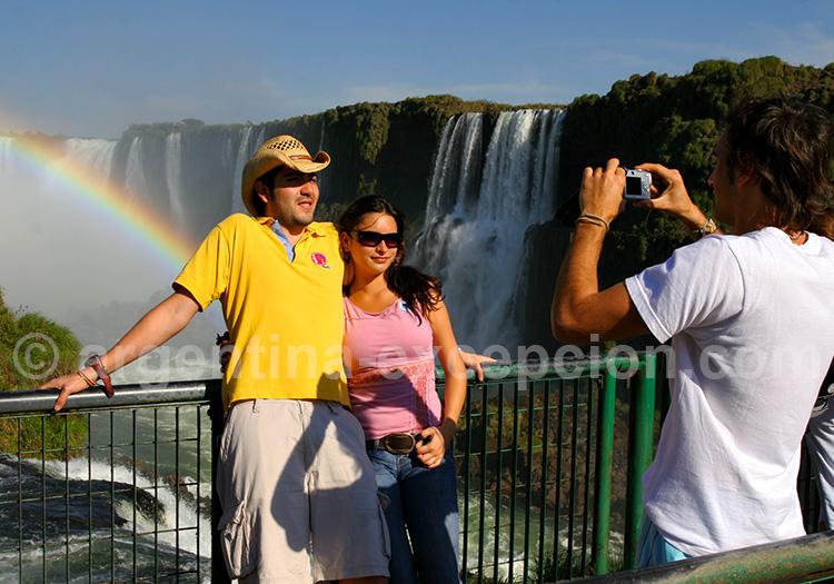 Chutes d'Iguazú, Brésil