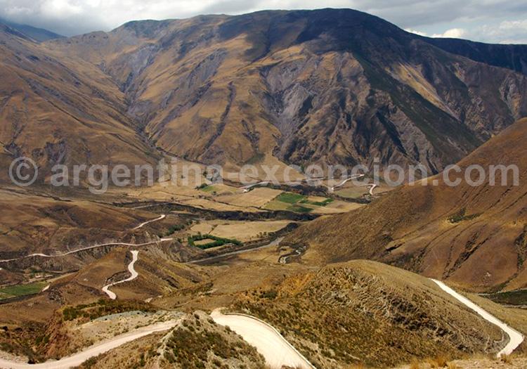 Cuesta del Obispo, entre Salta à Cachi