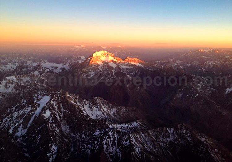 Aconcagua 6 961 m, Argentine