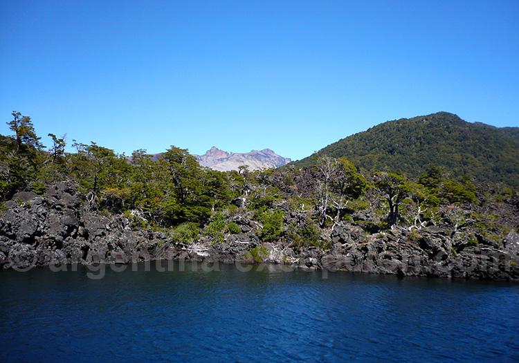 Escorial, lac Epulafquen, parc Lanin