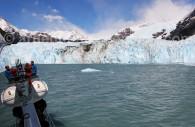glacier Spegazzini argentine