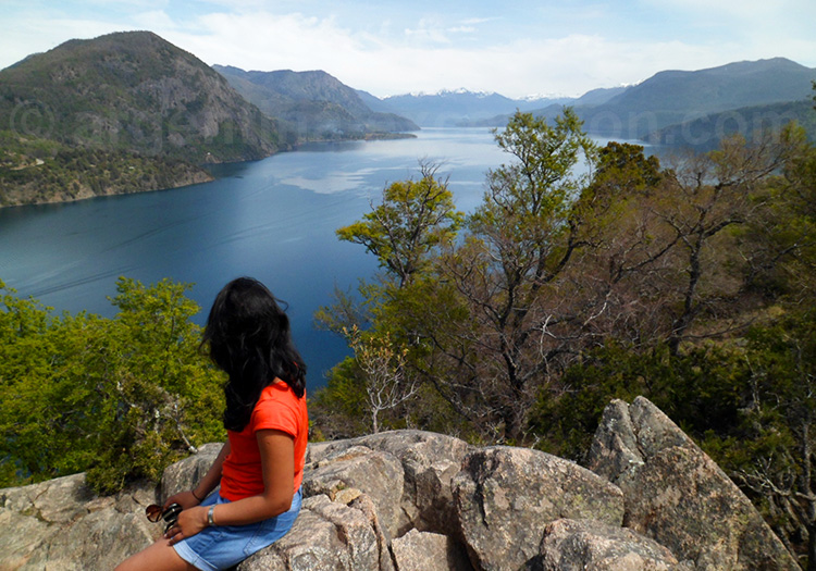 Mirador Bandurrias, lac Lacar