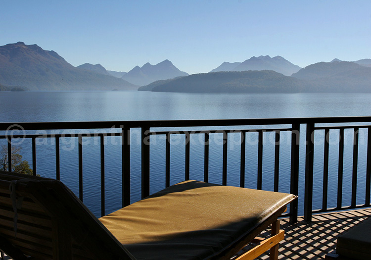 Plénitude au bord du lac Nahuel Huapi, hôtel El Faro