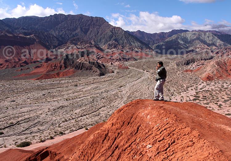 Excursion dans la Quebrada de las Conchas