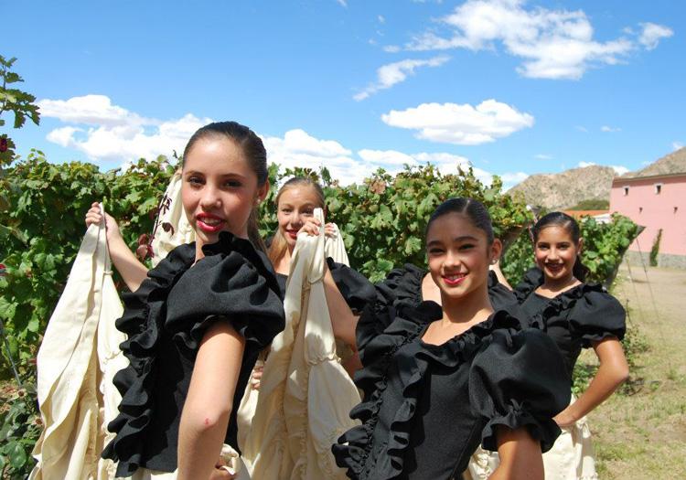 Festivités à la bodega Las Nubes