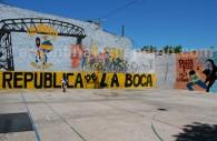 Le foot à la Boca, un symbole fort