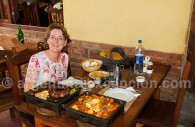 Que manger dans la Quebrada de las Flechas