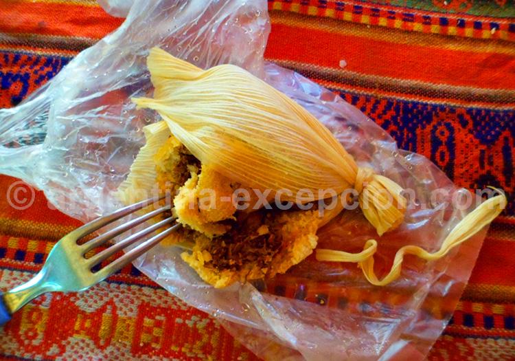 Humita, plat typique salteño