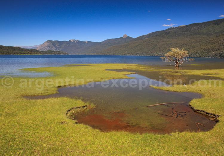 Lac Lácar depuis la Pucará