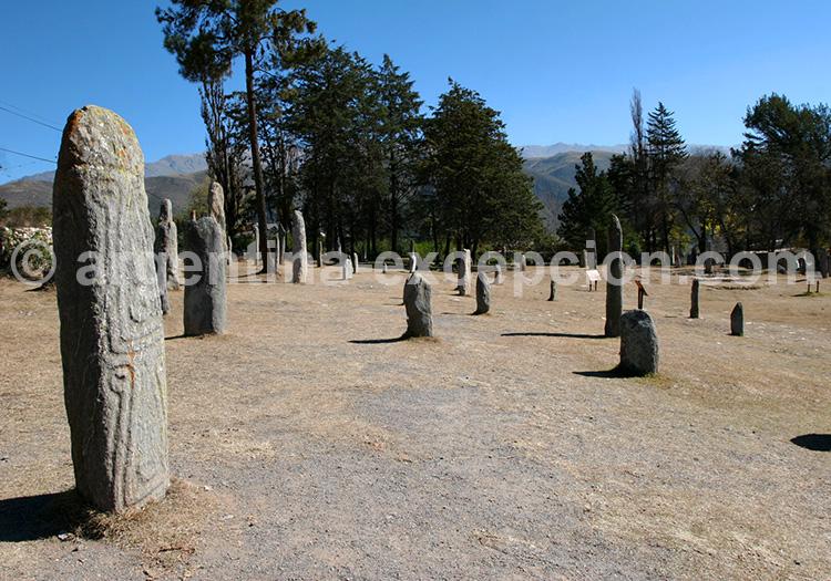 Menhirs de El Mollar, Argentine