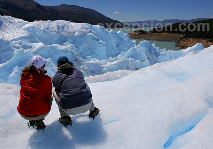 Trekking sur le Perito Moreno, El Calafate