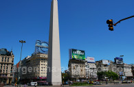 Obelisco and avenida 9 de julio