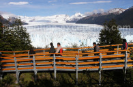 Passerelles glacier Perito Moreno