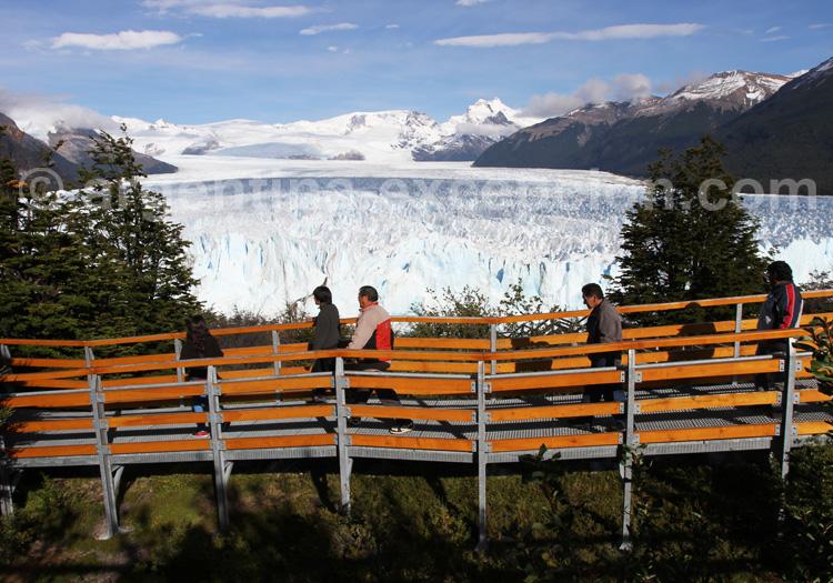 Passerelles du glacier Perito Moreno
