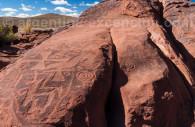 Petroglyphes Laguna Colorada jujuy