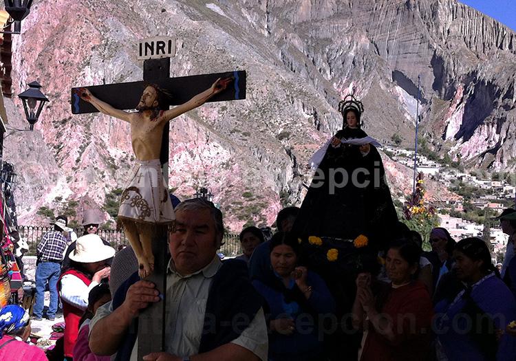 Procession du vendredi Saint à Iruya