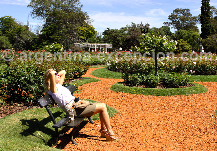 Jardin du Rosedal, Buenos Aires