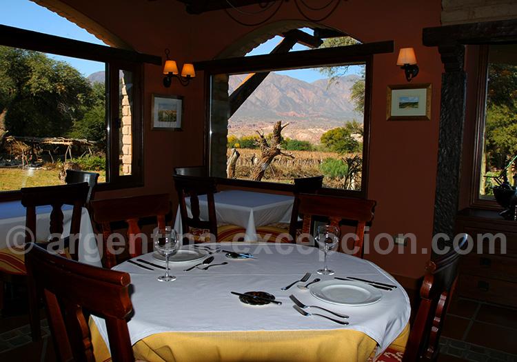Restaurants dans la Quebrada de las Conchas
