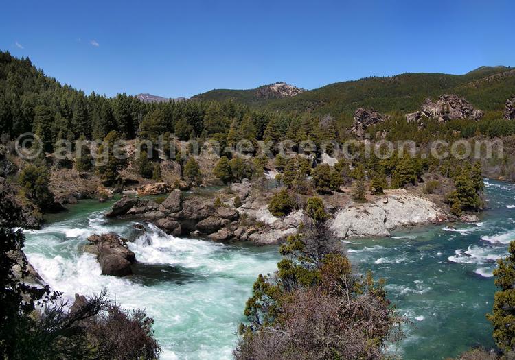 rio caleufeu, patagonie