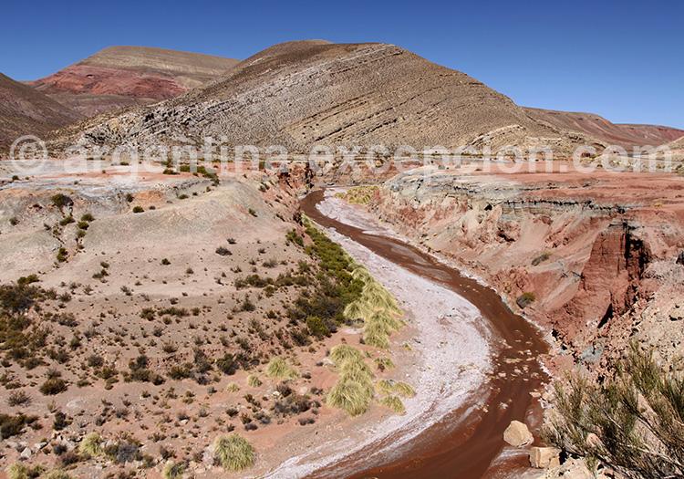 rio azul pampa argentine