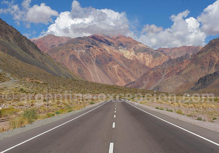 Que voir dans les environs de Mendoza ? (ici route n°7)