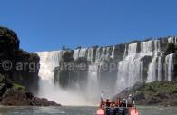 Safari nautico, rio Iguazu