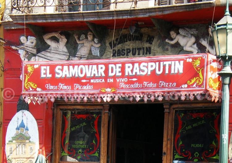 Le Samovar de Raspoutine