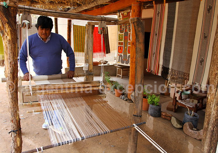 L'art du tissage dans la vallée de Las Flechas