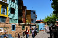 Les maisons multicolores de la Boca
