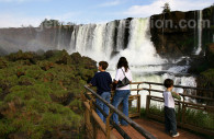 Brasilian side, Iguazú falls