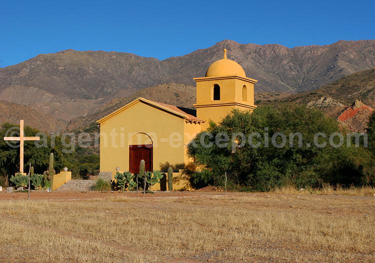 Village de Colomé, vallées Calchaquíes