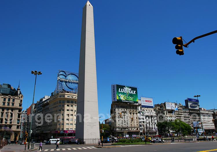 Obélisque, Avenida 9 de Julio, Buenos Aires