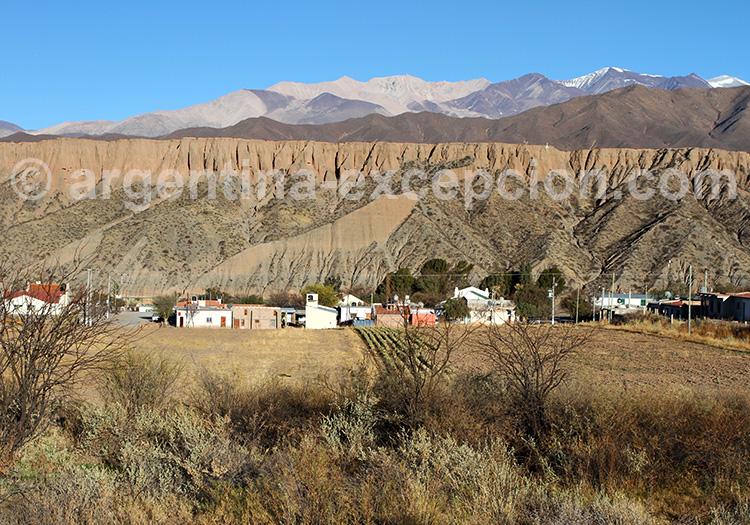 Village de Payogasta, vallées Calchaquíes