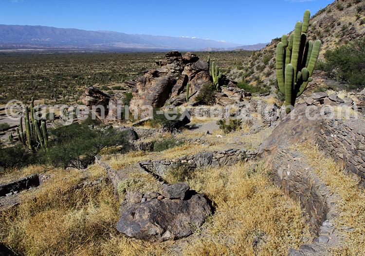 Géographie des ruines de Quilmes