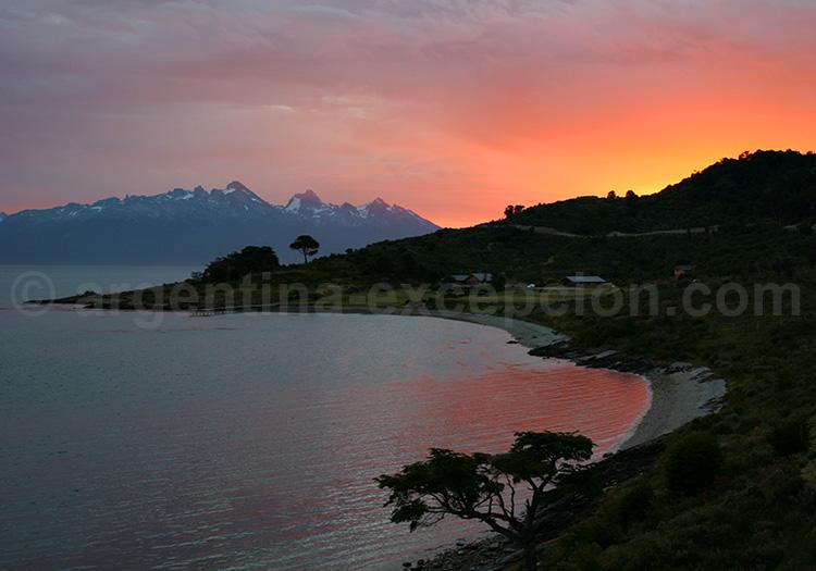 Coucher de soleil Ushuaia