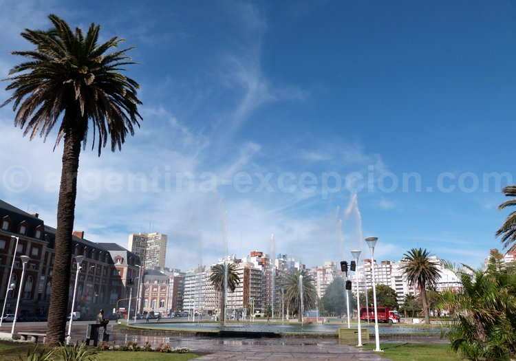 Plaza del Milenio, Mar del Plata