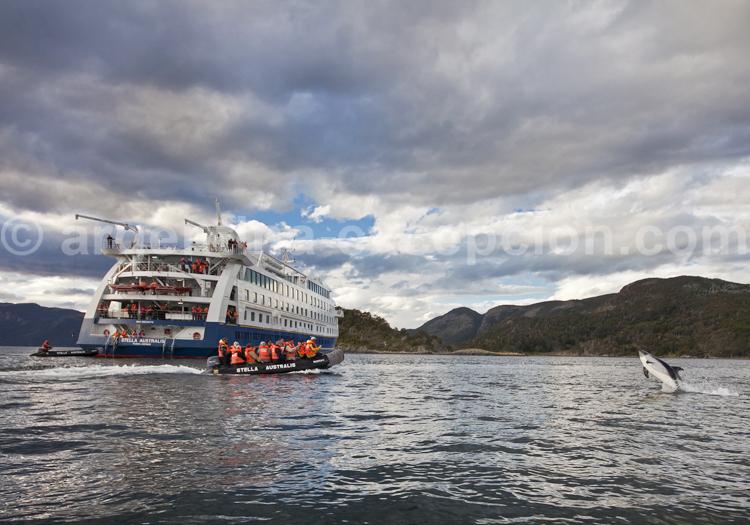 Croisière Australis, Patagonie