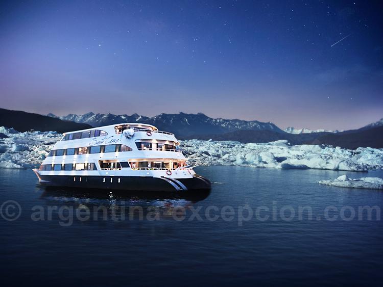 Catamaran Santa Cruz, lac Argentino