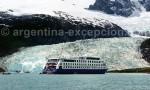 Glacier Pia, Crucero AustralisGlacier Pia, Crucero Australis