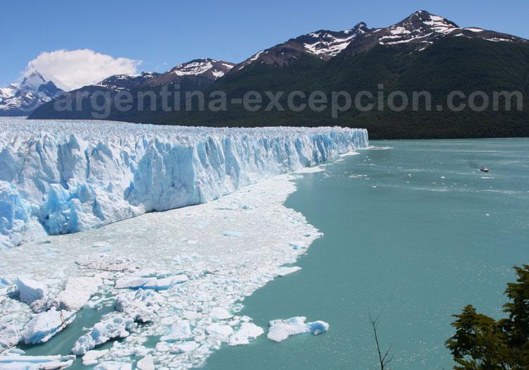 Front nord du glacier Perito Moreno, El Calafate