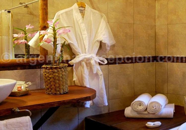 Salle de bain, Aldea de la Selva Lodge
