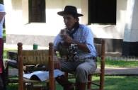 Pause musicale à l'estancia La Porteña