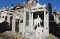 Sépulture, cimetière de la Recoleta