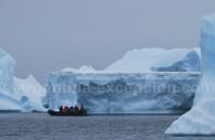 La glace, omniprésente en Antarctique