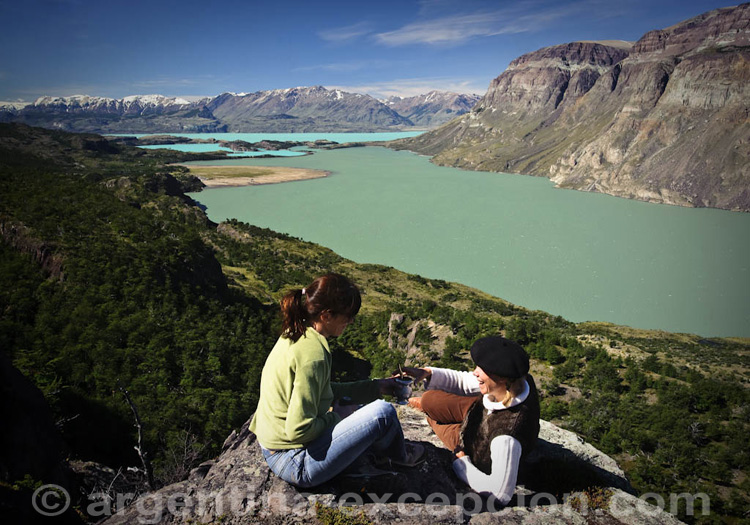 Lac San Martin, estancia El Cóndor